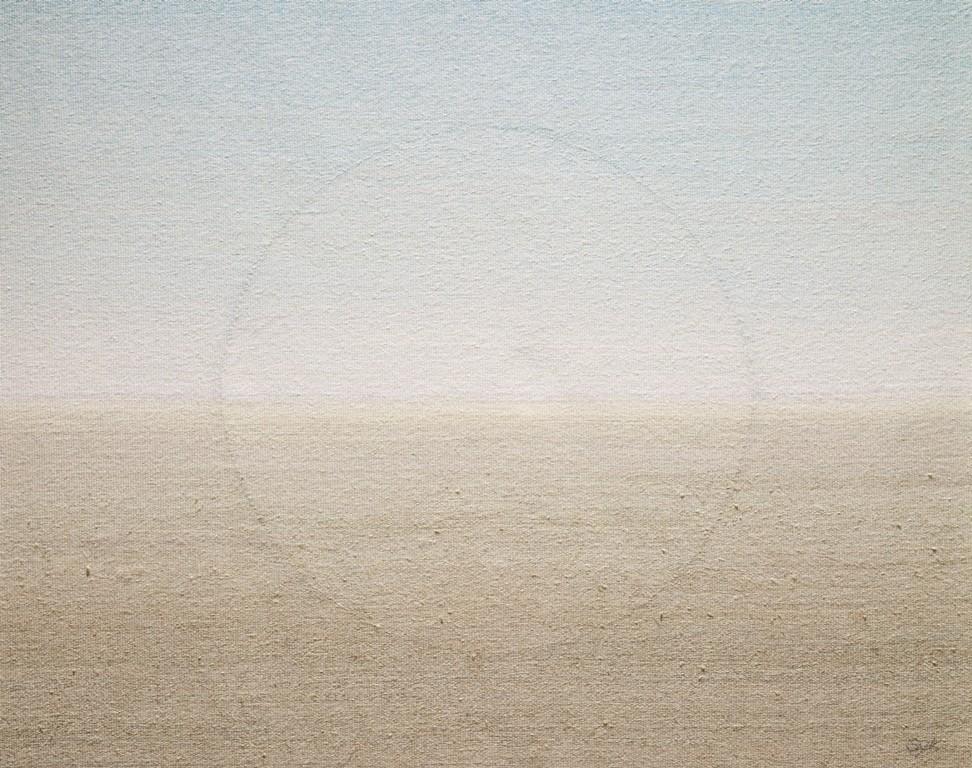 1. Meditation_ 75x100cm_Hand Woven Tapestry_wool, linen, cotton_ 2006.jpg