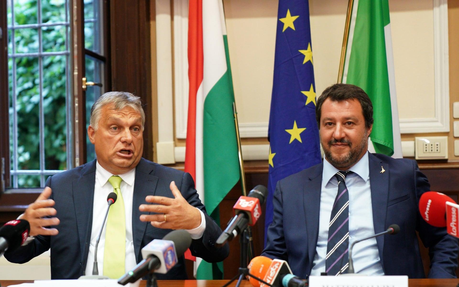 유럽1-폴란드 총리와 이탈리아 내무장관, 이민자 추방에 뜻 모아 텔레그래프지.jpeg