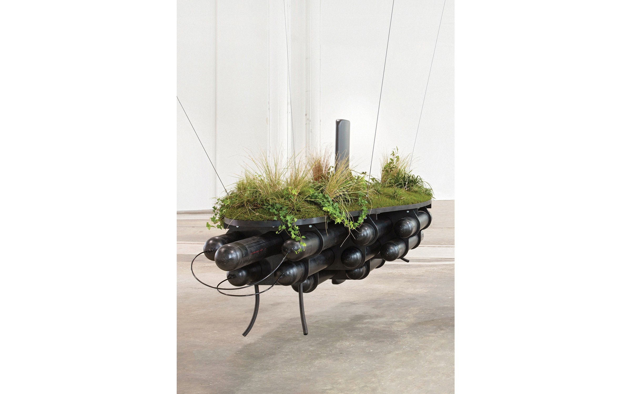 Simon Starling, Project for a Floating Garden (After Little Sparta), 2011, 2015.jpg