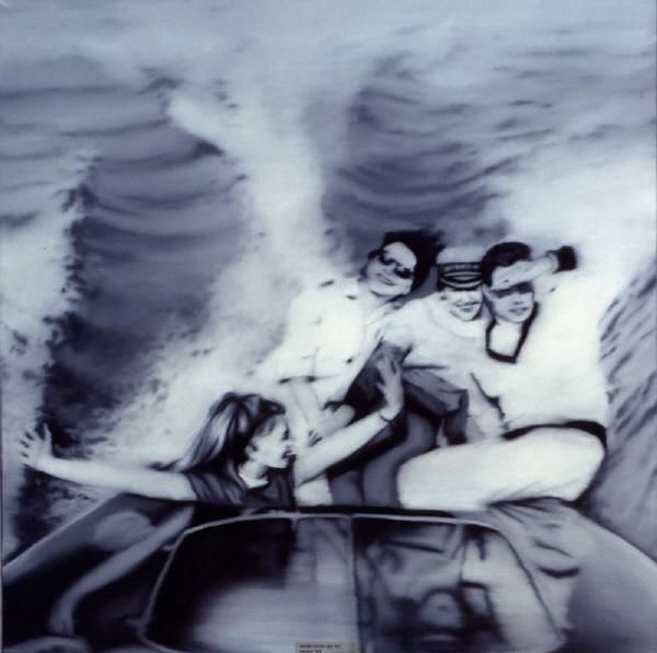 Gerhard Richter, Motorboat, 1965.jpg