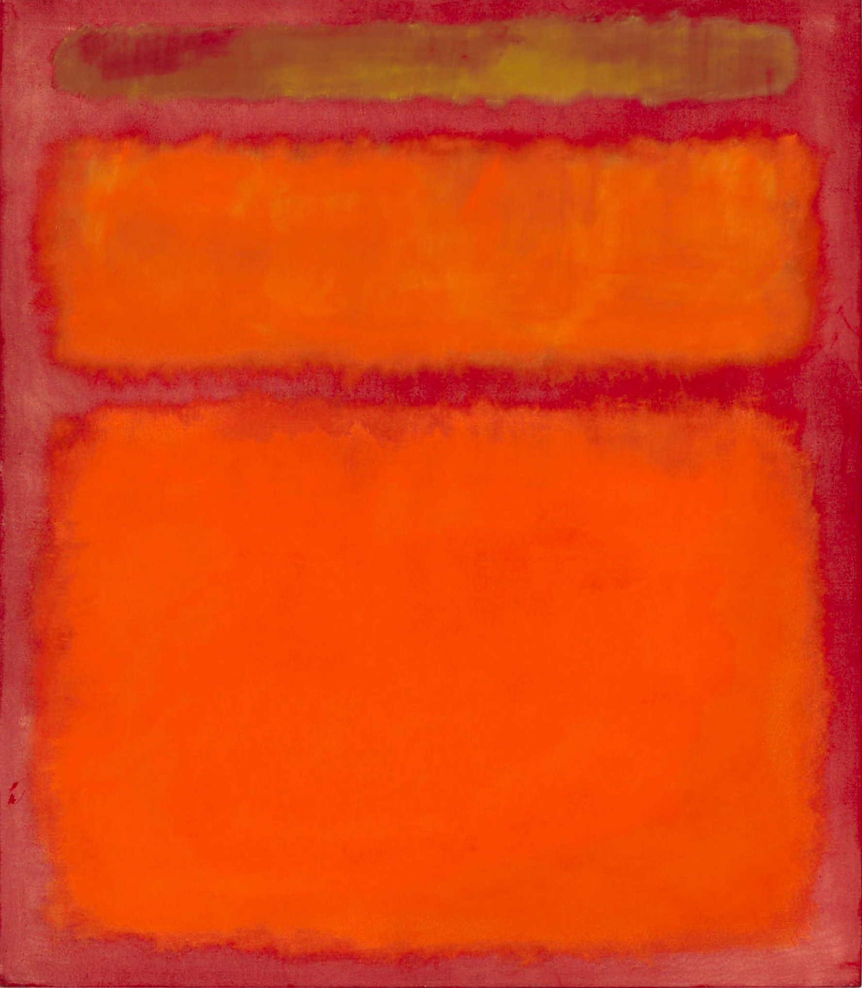 Mark Rothko , Orange Red  Yellow, 1961.jpg