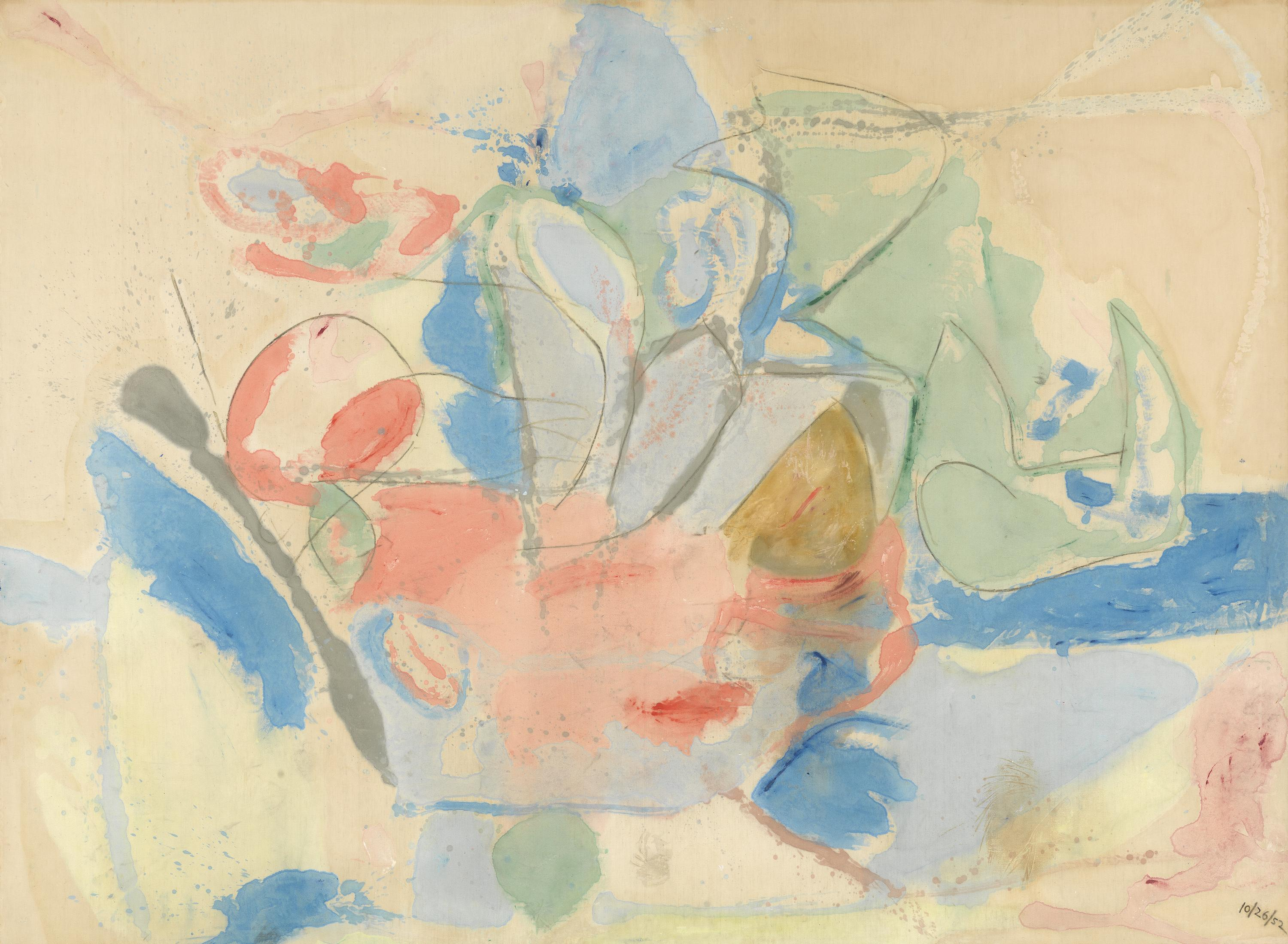 Helen Frankenthaler, Mountains and Sea, 1952.jpg