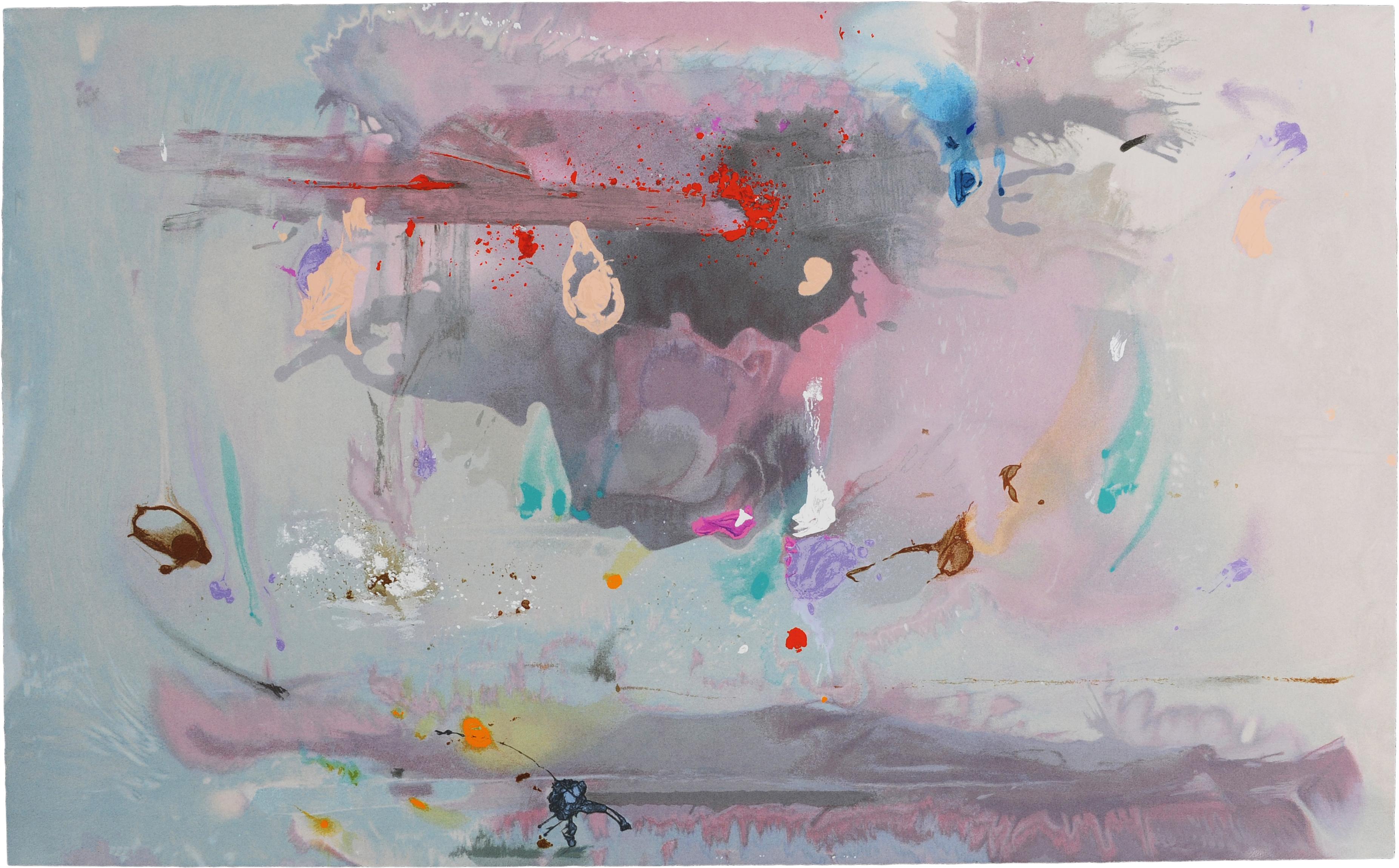 Helen Frankenthaler, Grey Fireworks, 2000.jpg