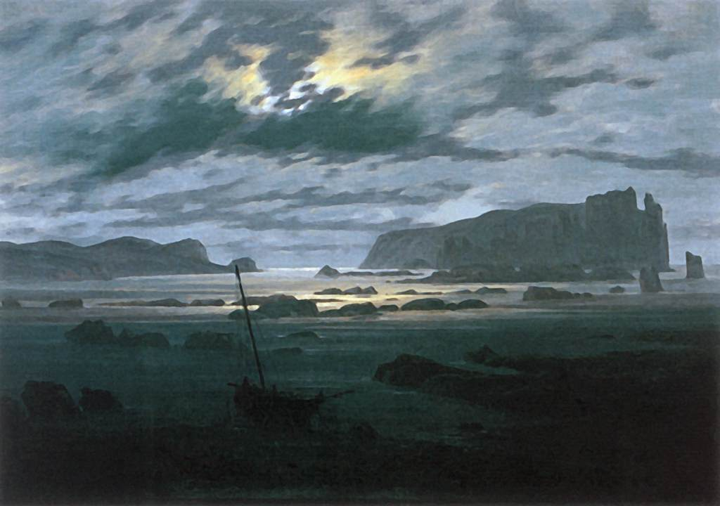 Caspar David Friedrich,Northern Sea In The Moonlight,1823-24.jpg
