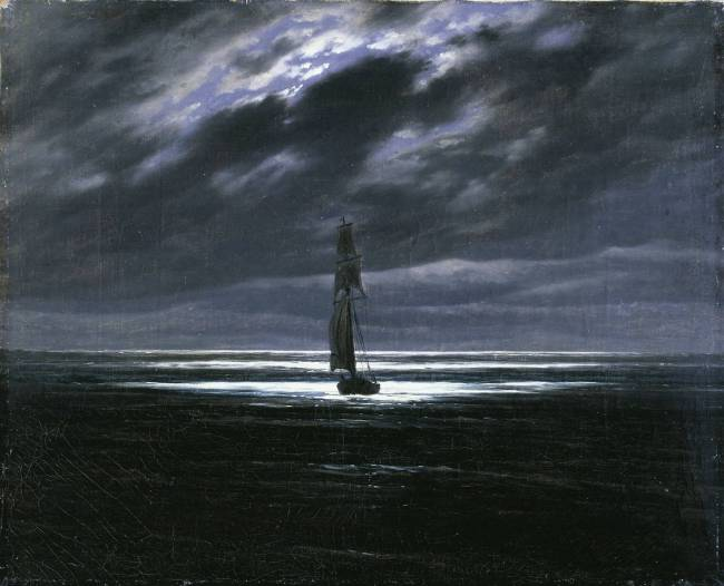 Caspar David Friedrich, Seascape in the Moonlight, 1835.jpg