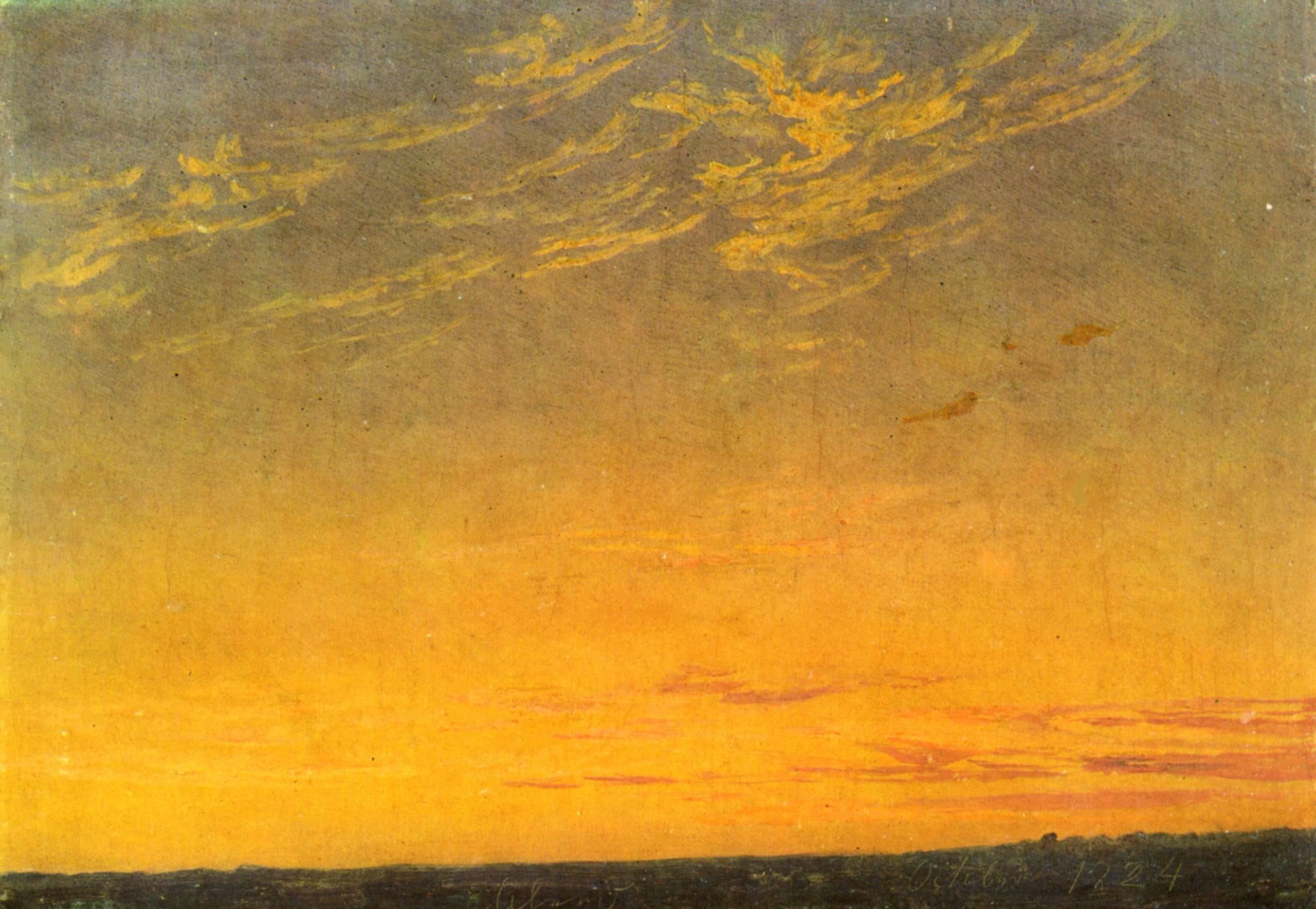 Caspar David Friedrich, Abend, 1824.jpg