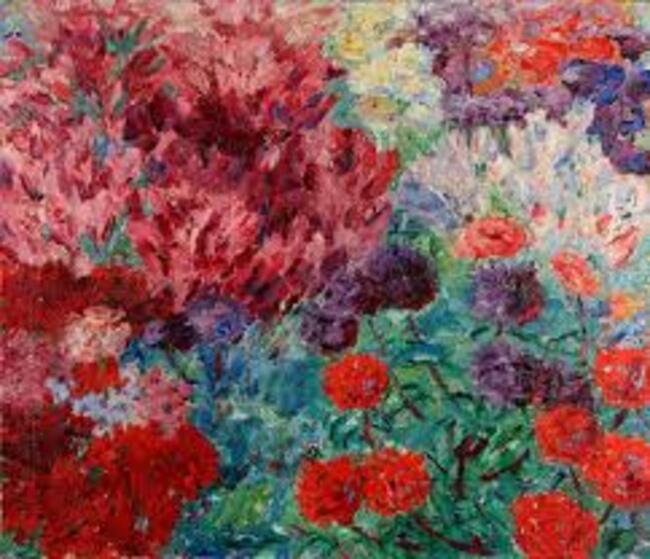 5Emil Nolde, Flower Garden (without figure) (Blumengarten, ohne Figur), 1908 - Copy.jpg