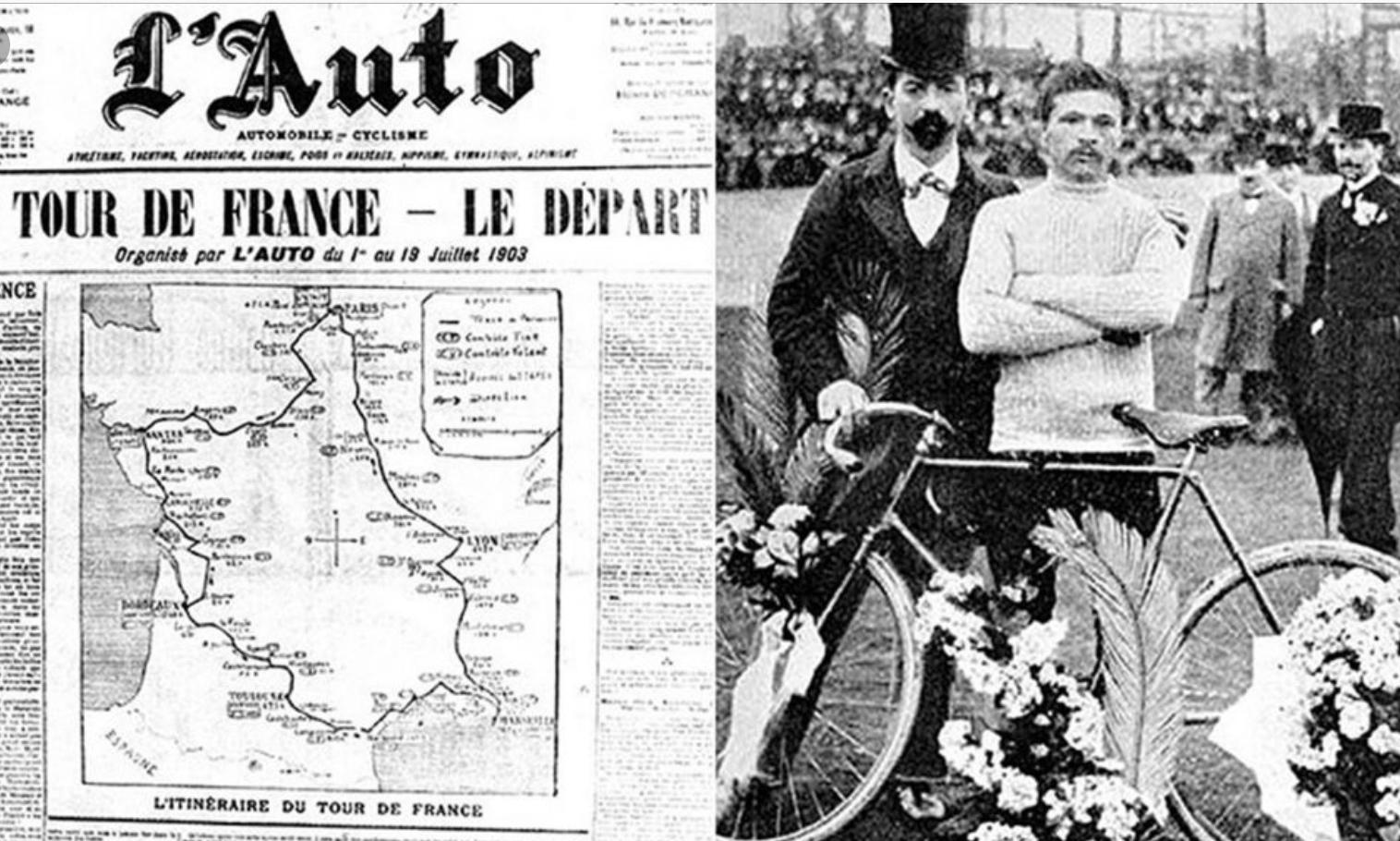 1903 뚜르 드 프랑스 기사.jpg
