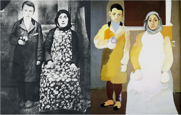 4Arshile Gorky, The Artist and his mother, 1926-36.jpg