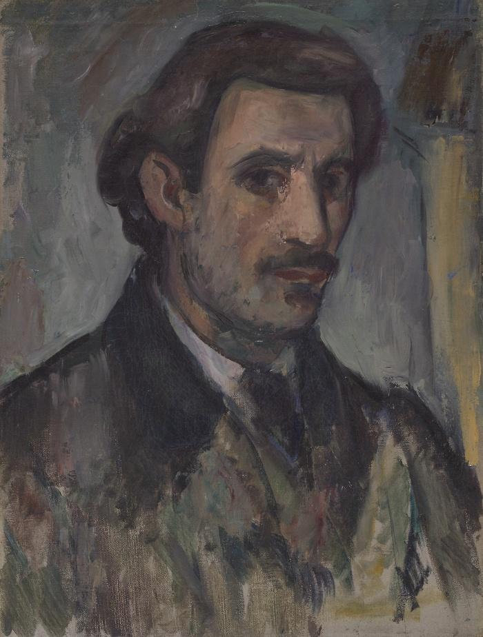 8Arshile Gorky, Self-PortraitDate,1927-28.jpg