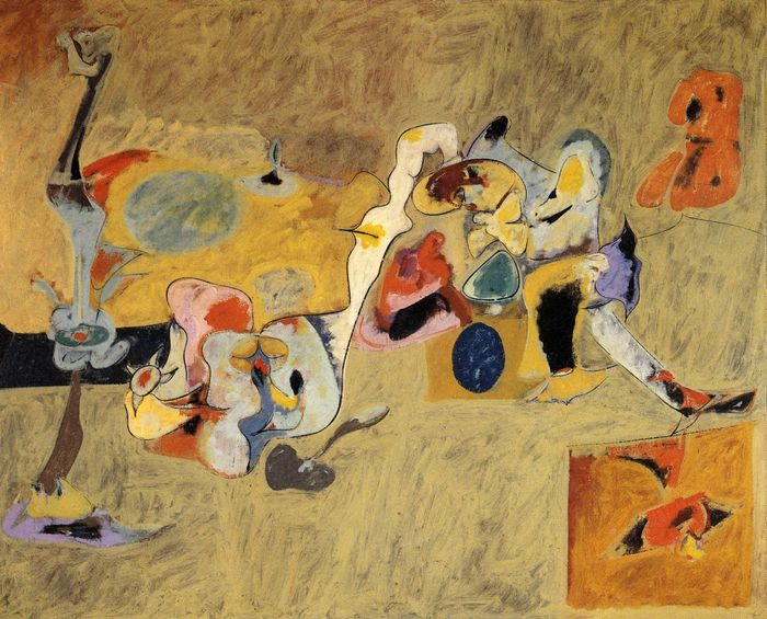 7Arshile Gorky, The Plow And The Song, 1947.jpg