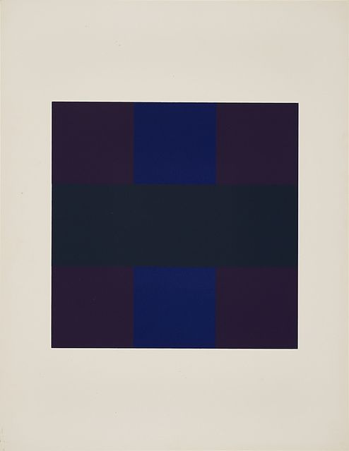 Ad Reinhardt , # 6 from 10 Screenprints, 1966.jpg