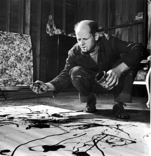 Lucifer를 그리고 있는 Jackson Pollok (1947).jpg