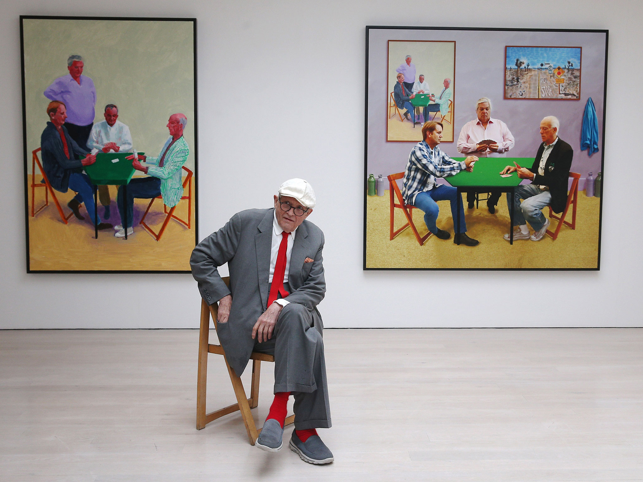 David Hockney at The Tate Modern, London.jpg