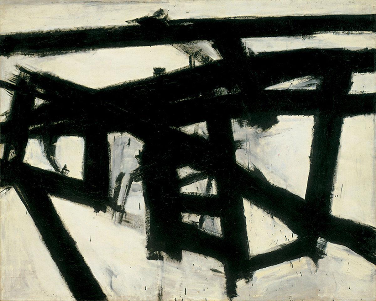 Franz Kline, Mahoning, 1956.jpg