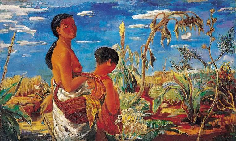 이인성, 가을어느날, 1934.jpg