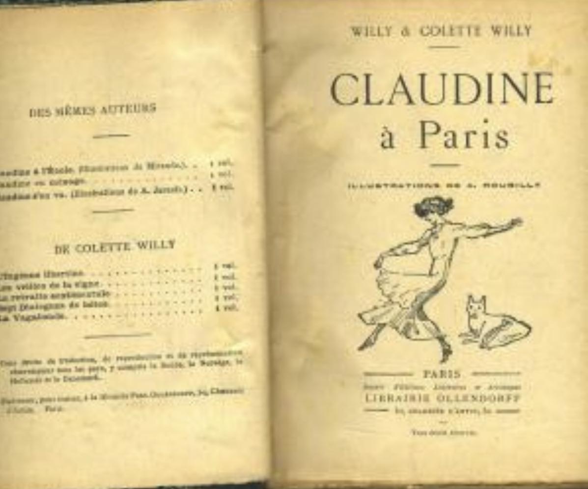 클로딘 시리즈 소설 중 '파리의 클로딘'.jpg