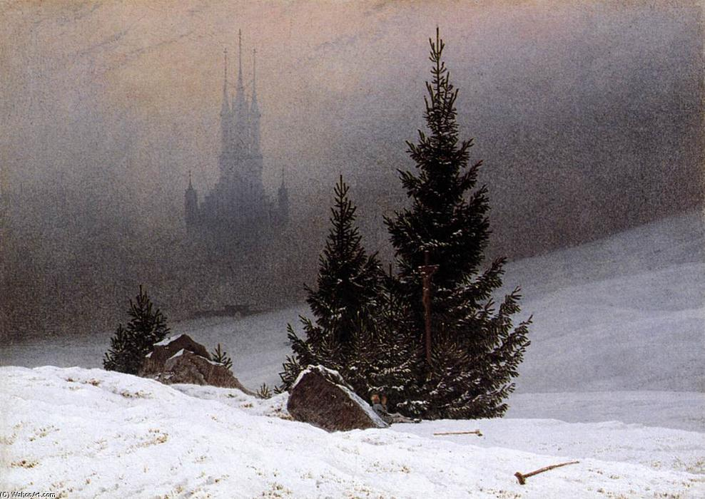 Caspar David Friedrich , Winter Landscape, 1811.JPG
