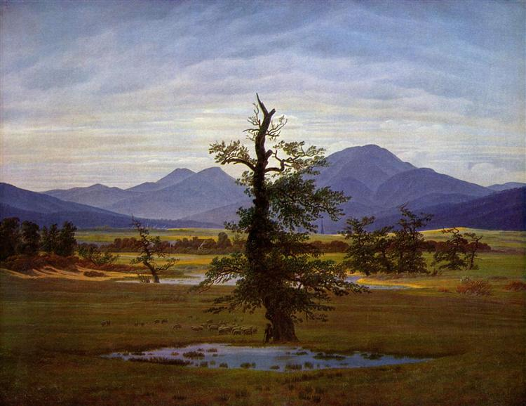 Caspar David Friedrich, Solitary Tree, 1822.jpg