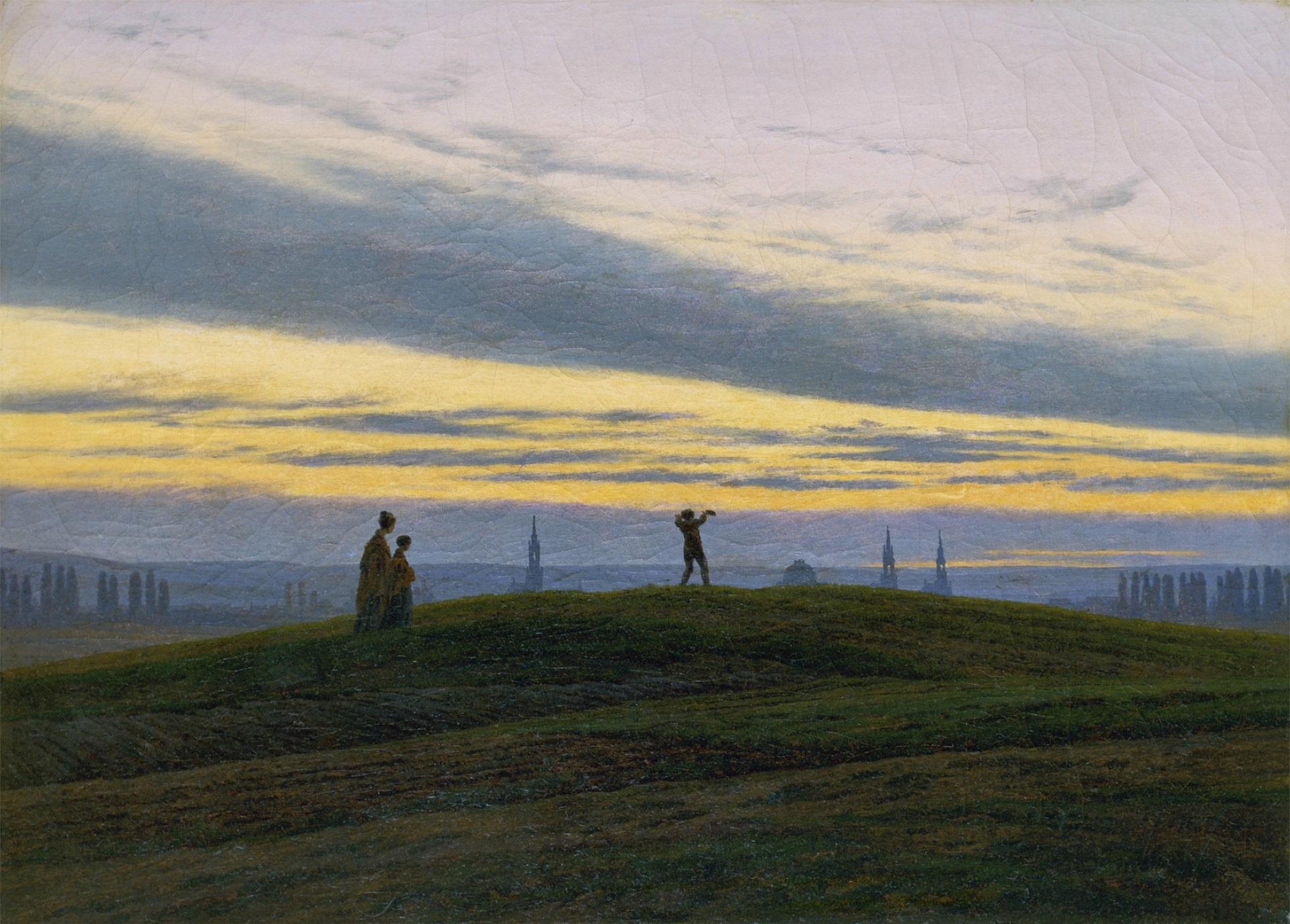 Caspar David Friedrich,Der Abendstern, 1830.jpg