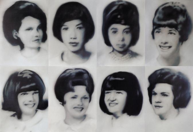 Gerhard Richter, Eight Student Nurses, 1966.jpg