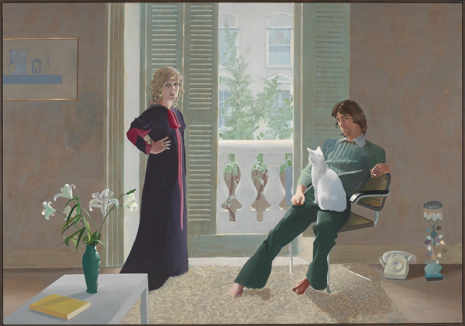 David Hockney, Mr and Mrs Cark and Percy, 1971.jpg