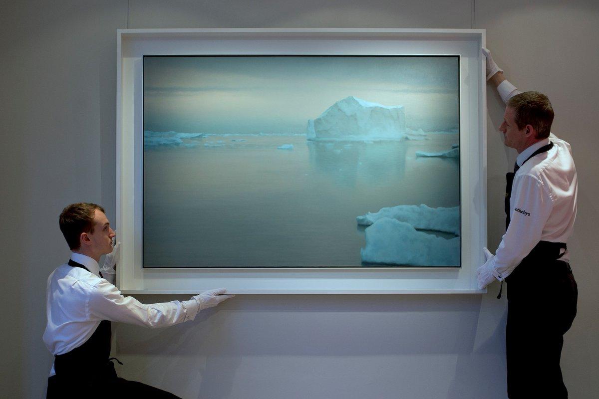 게르하르 리히터, '아이스베르크'(Eisberg·빙산), 1982.jpg