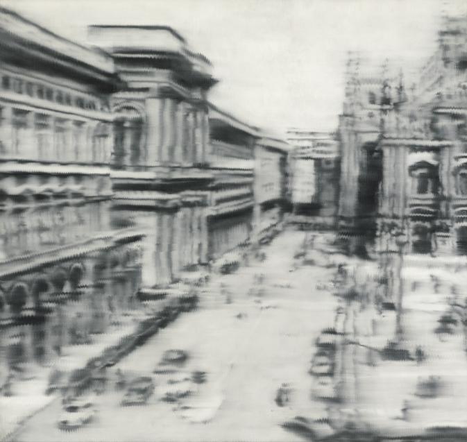 Gerhard Richter, Domplatz Mailand, 1968.jpg