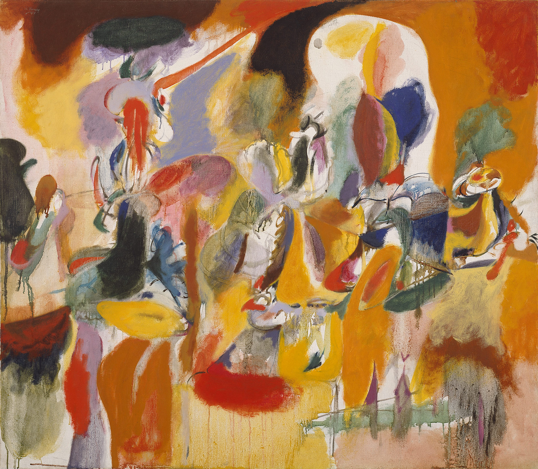 Arshile Gorky, Water of the Flowery Mill, 1944.jpg