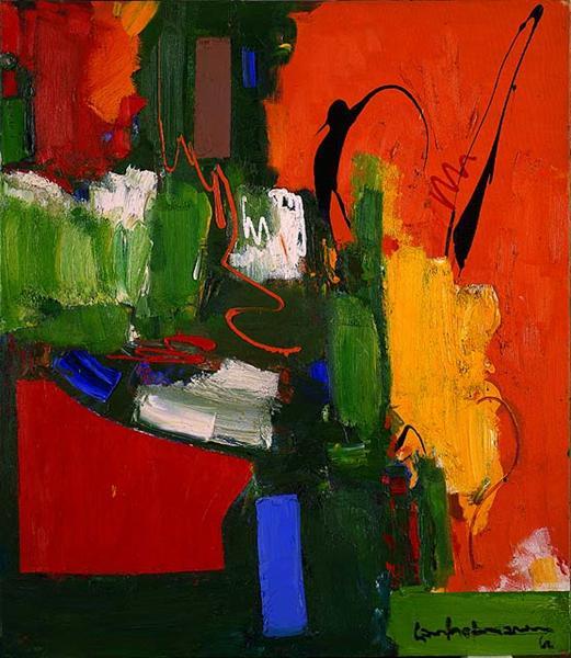 Hans Hofmann, The Lark, 1960.jpg