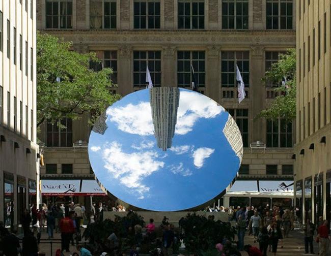 1아니쉬 카푸어, Sky Mirror. 2006.jpg