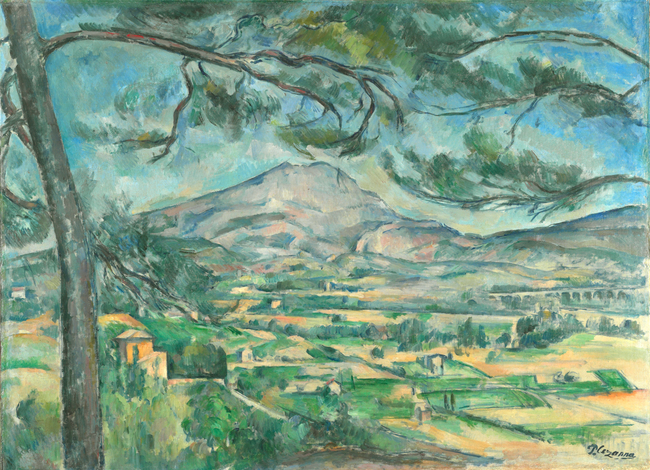 7Paul Cezanne, Mont Sainte-Victoire with Large Pine, 1887.jpg
