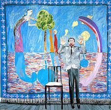 David Hockney, Play within a play, 1963.jpg