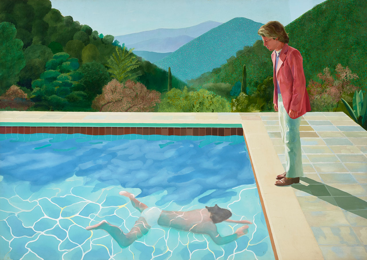 David Hockney, Portrait of an Artist(Pool with Two Figures), 1972.jpg
