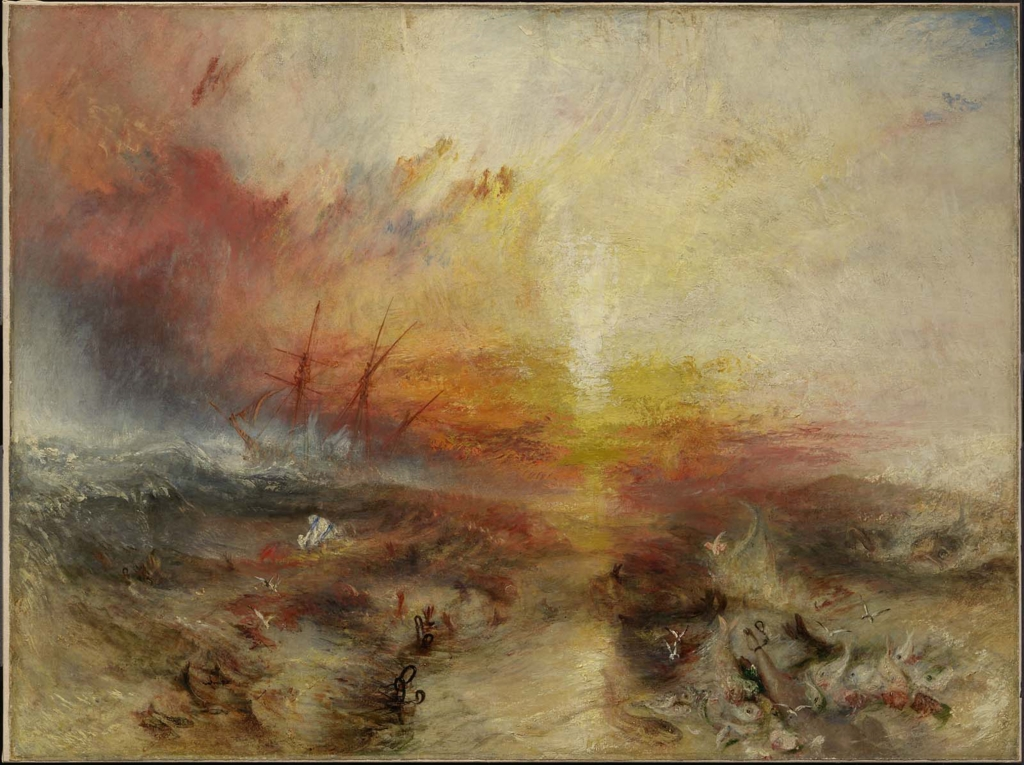 Joseph Mallord William Turner, Slavers throwing overboard the Dead and Dying, 1840.jpg