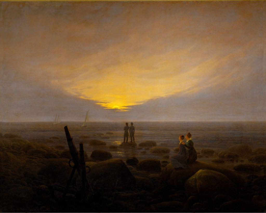 Caspar David Friedrich, Moonrise over the Sea, 1821.jpg