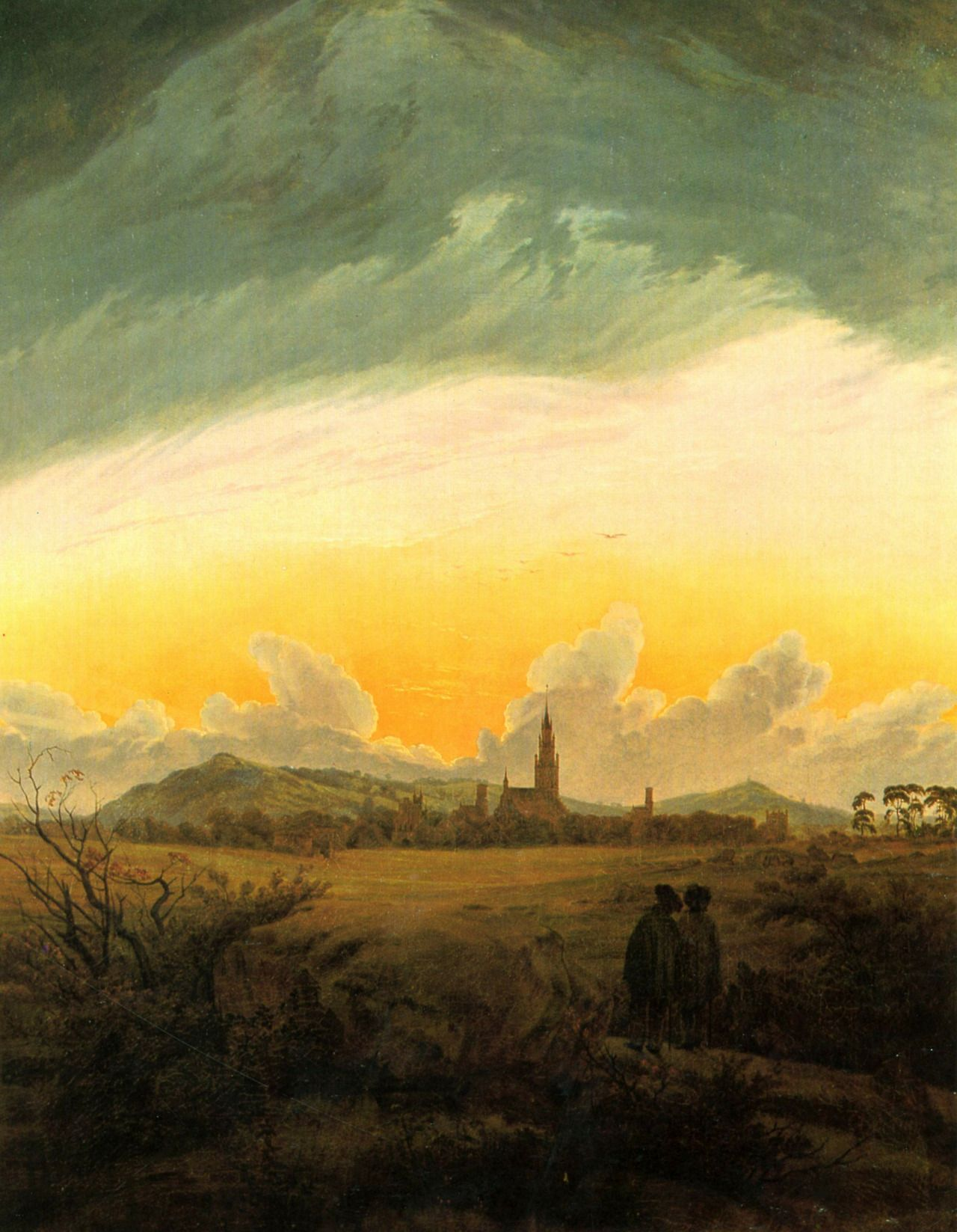 Caspar David Friedrich,Neubrandenburg,1816 - 1817.jpg