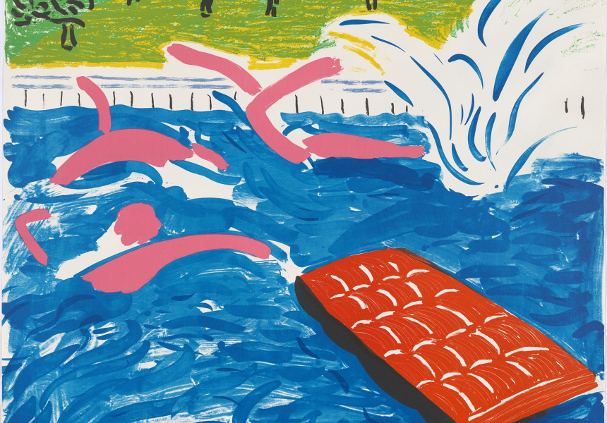 David Hockney, Swimming Afternoon, 1980 (Print).jpg