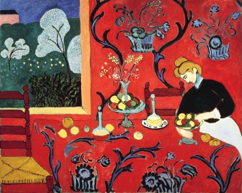 앙리 마티스, 붉은 방, 1911.jpg