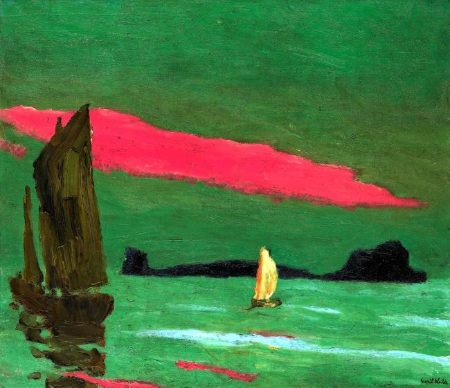 8Emil Nolde,Südseeinsel (South Sea Island), 1915.jpg