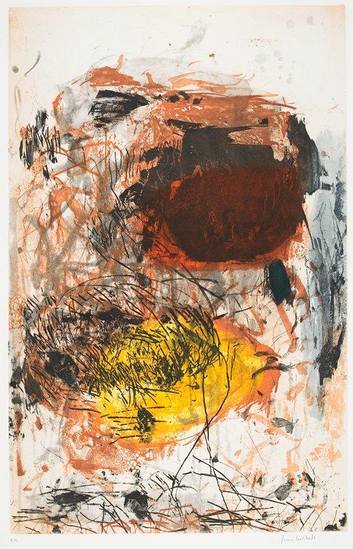 Joan Mitchell, Sunflower 2(Etching), 1972.jpg