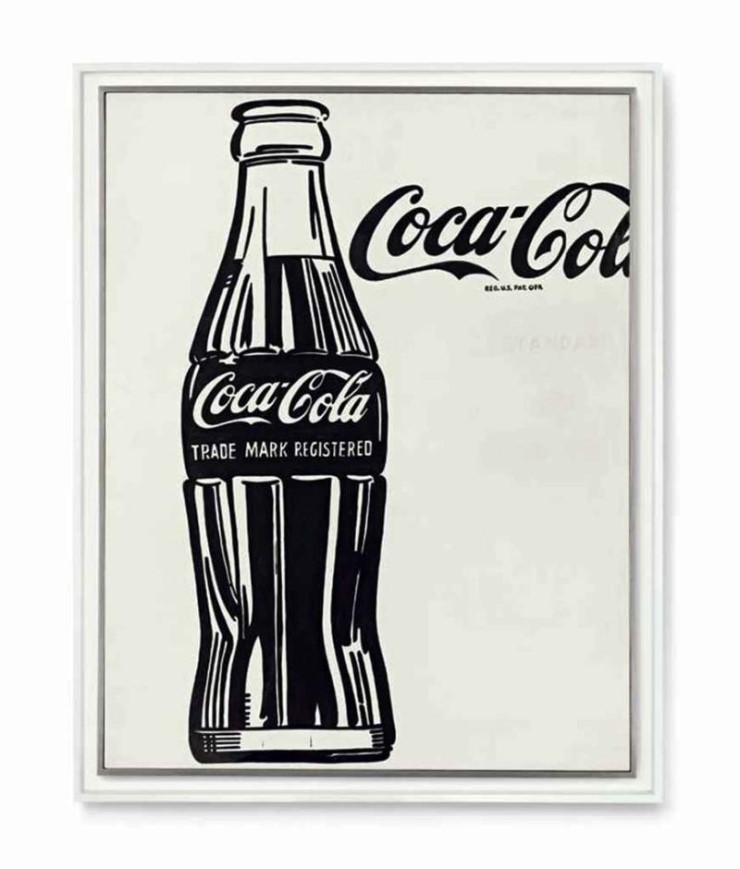 앤디 워홀, Coca-Cola 3, 1962.jpg