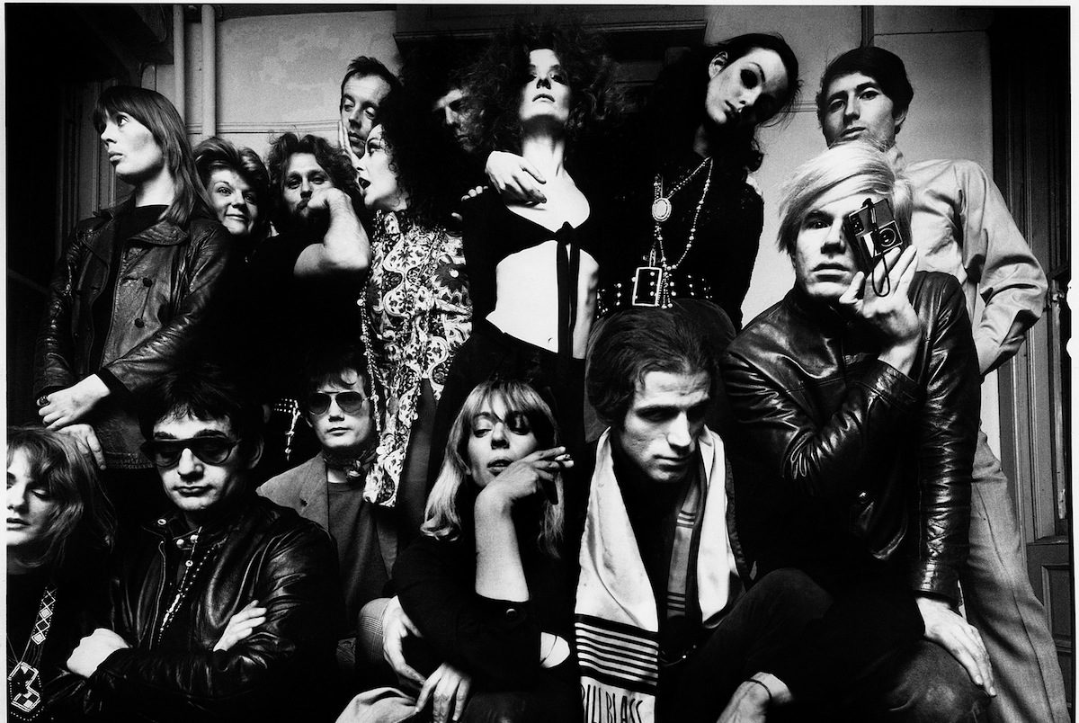 Andy Warhol and friends at The Factory (1968).jpeg