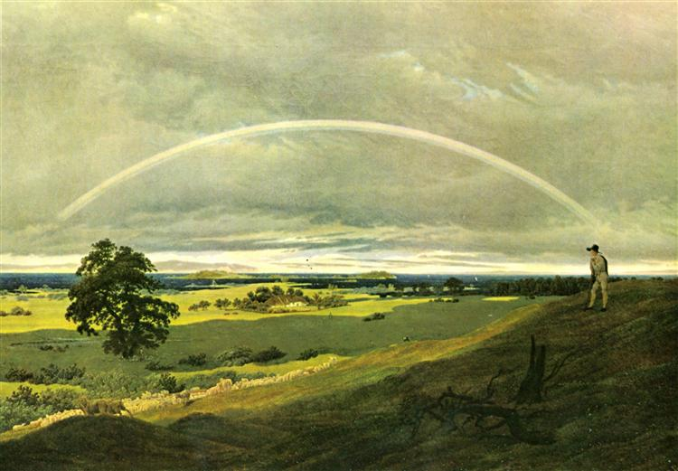 Caspar David Friedrich, Landscape with rainbow, 1810.jpg