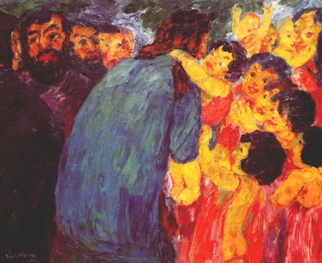 7Emil Nolde, Christ and the Children,1910.jpg