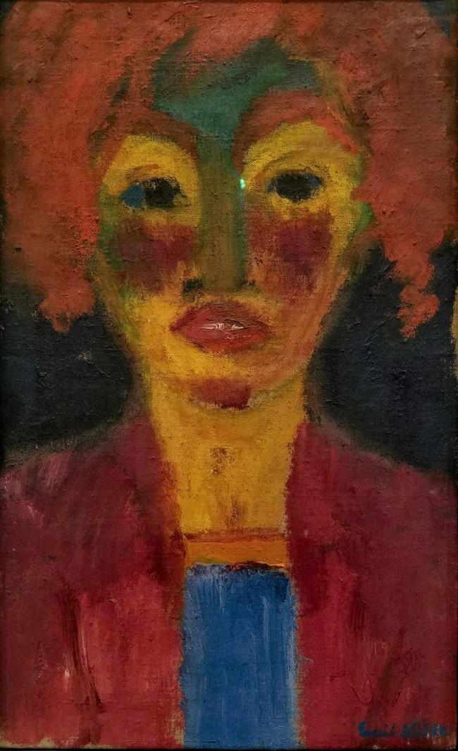 10Emil Nolde, Red-Haired Girl, 1919.jpg
