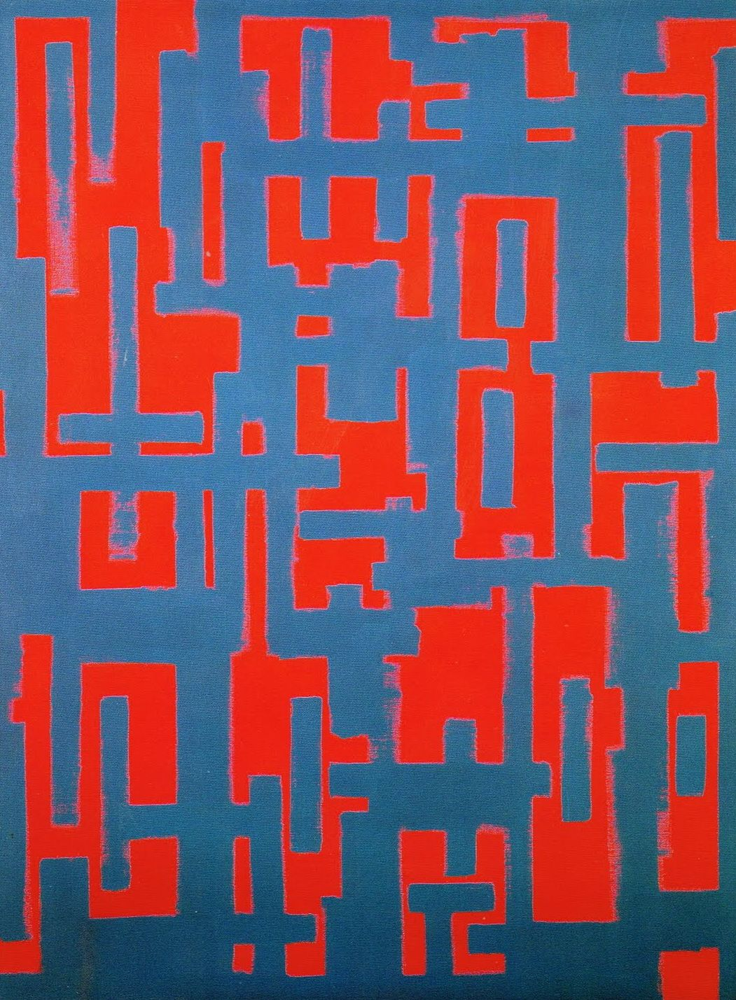 Ad Reinhardt, Untitled (Red and Gray), 1950.jpg