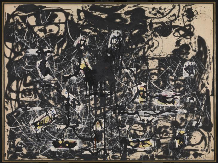 Jackson Pollock, Yellow Islands, 1952.jpg