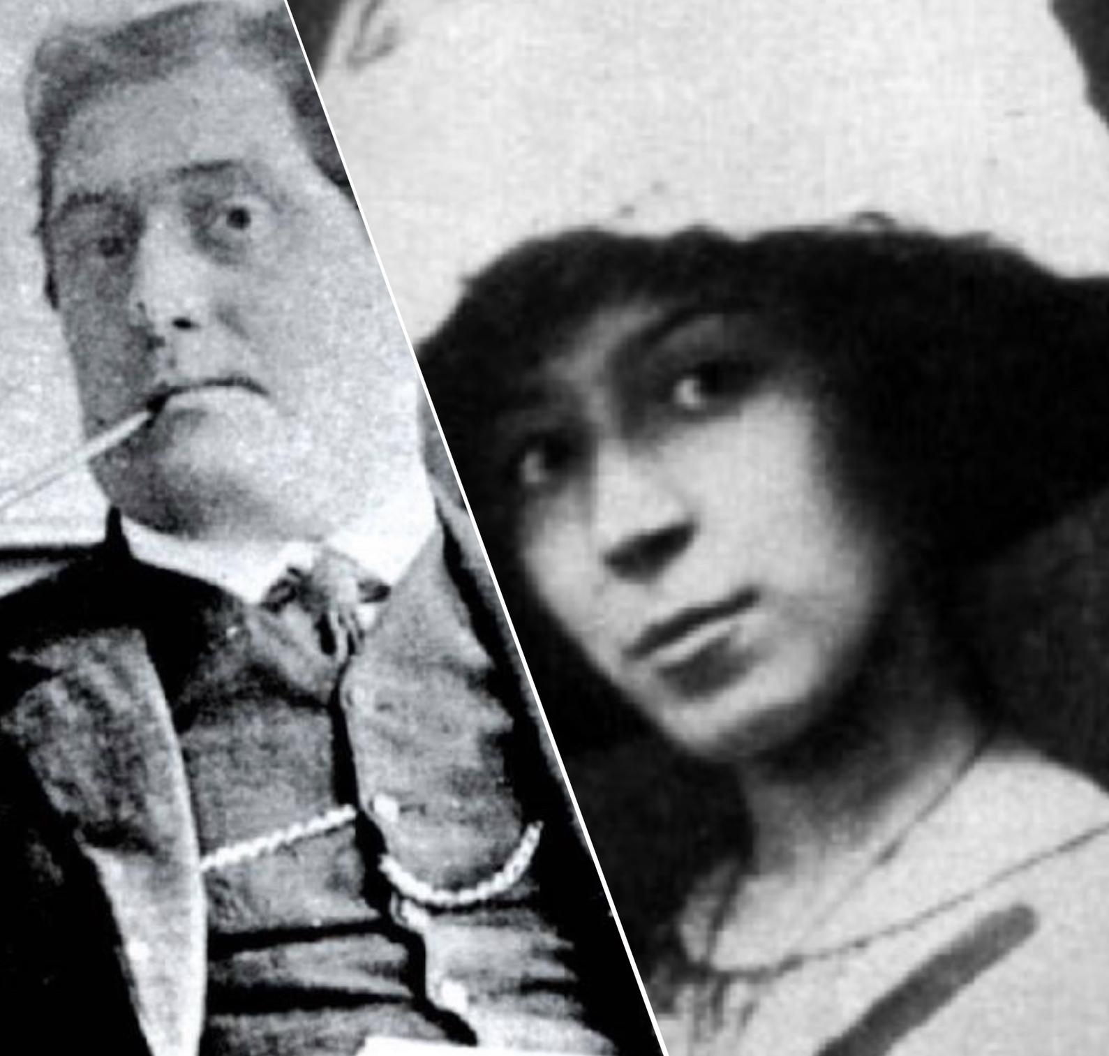 기욤 아폴리네르와 마리 로랑생.JPG