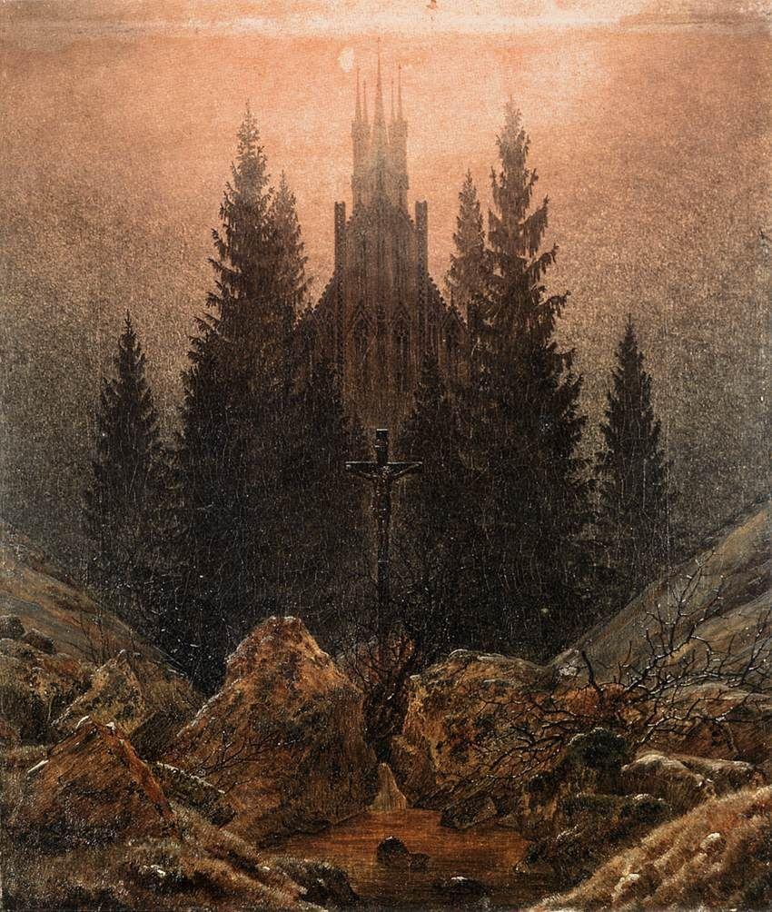 Caspar David Friedrich,The Cross In The Mountains, 1812.jpg